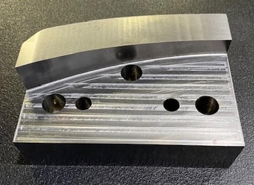 三次元加工 金型まるごと加工 プレス金型曲げ刃