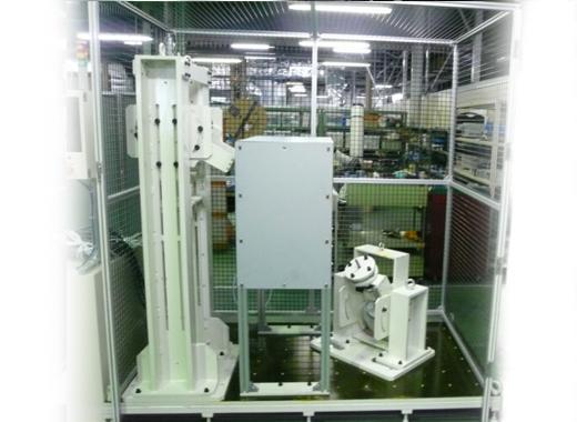 製缶機械加工 対応例 パネル溶接治具