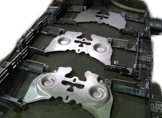 製缶機械加工 対応例 搬送シューター(コロコン)