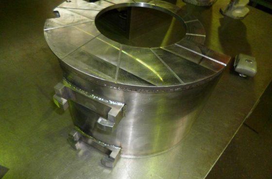 製缶機械加工の工程管理について