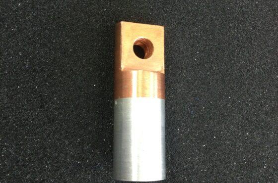 摩擦圧接品 電力用端子